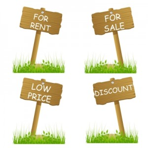 Lists for sale and rent