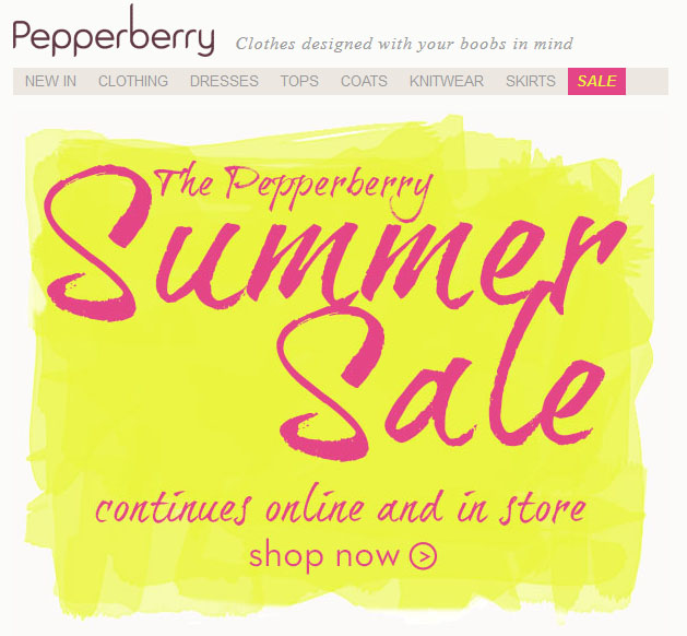 Pepperberry Sale