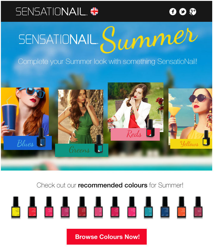 Sensationail Summer