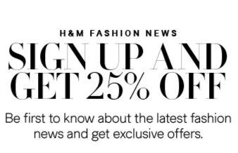 H&M Incentive