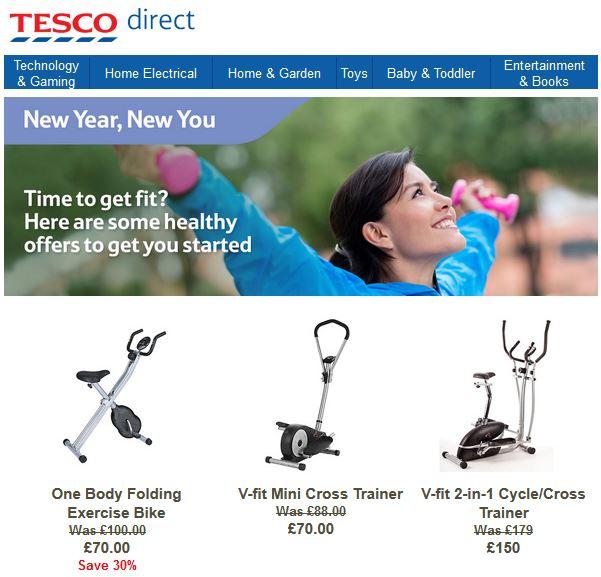 Tesco Fitness