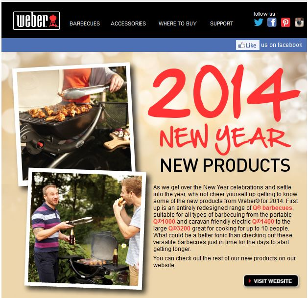 Weber New Products