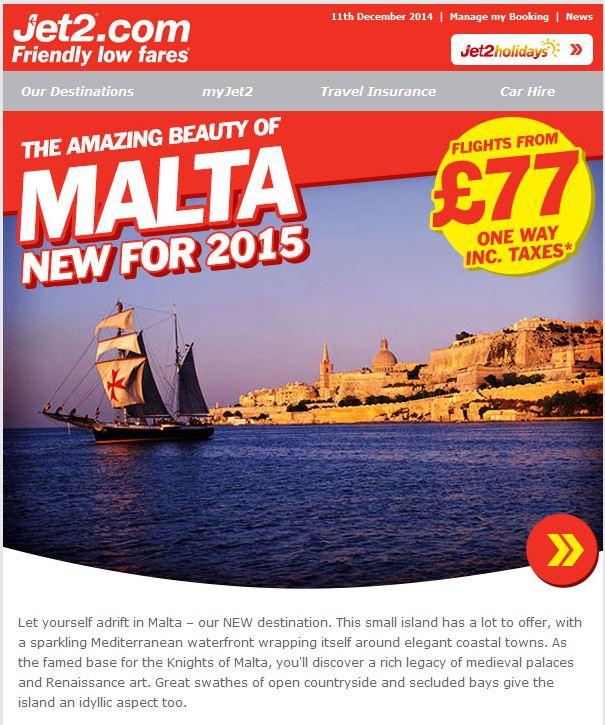 Jet2 Malta