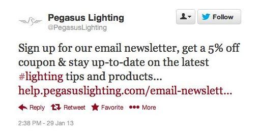 Pegasus Tweet