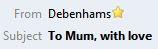 Debenhams Mum