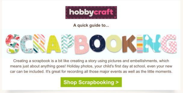 Hobbycraft Scrapbooking