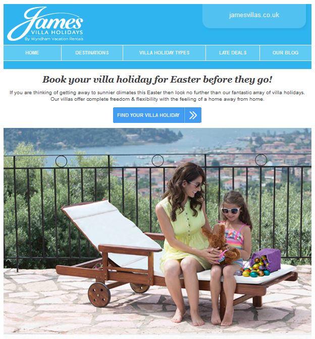 James Villas Easter