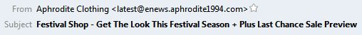 Aphrodite Subject
