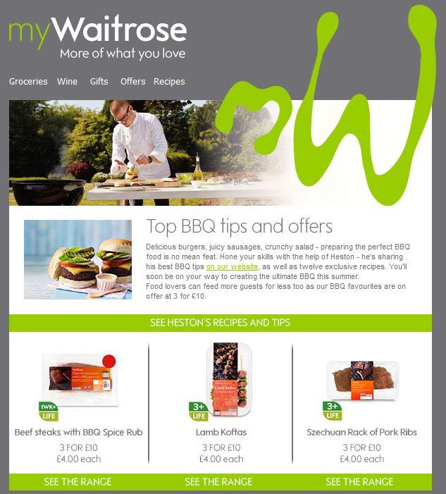 Waitrose BBQ