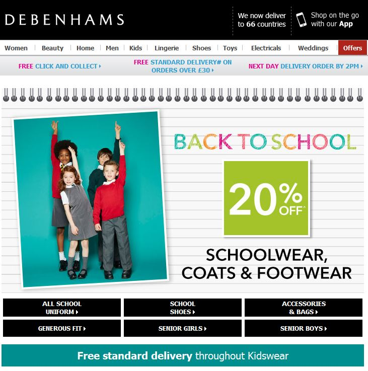 Debenhams School