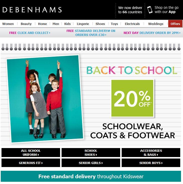 Debenhams School