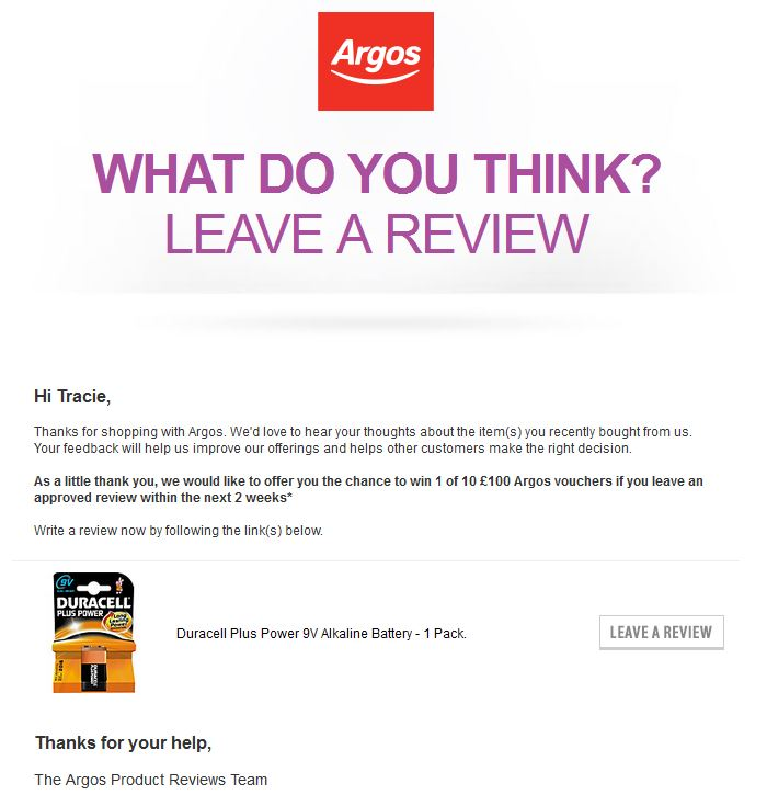 Argos Review