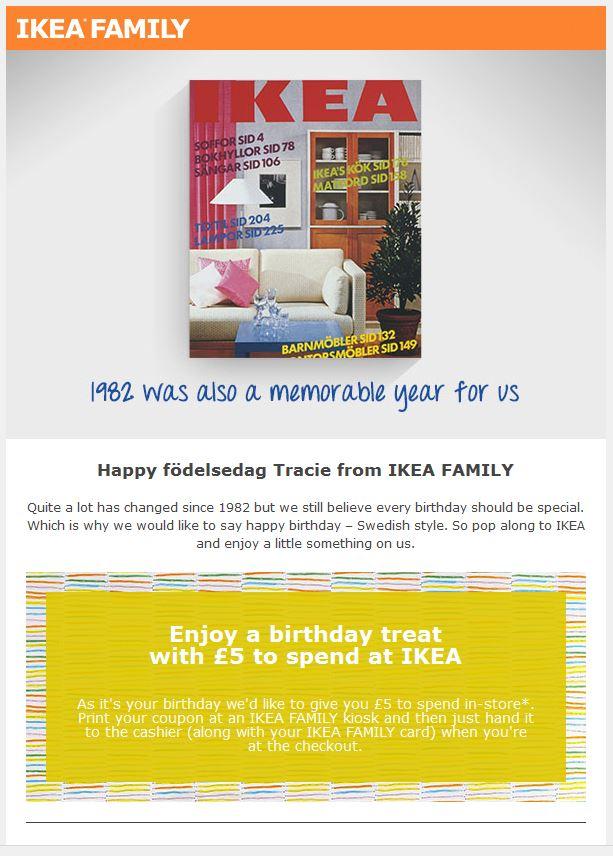 Ikea Birthday