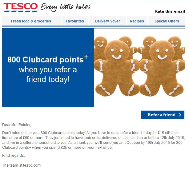 Tesco Friend 1
