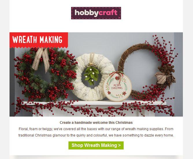 Hobbycraft Christmas 1