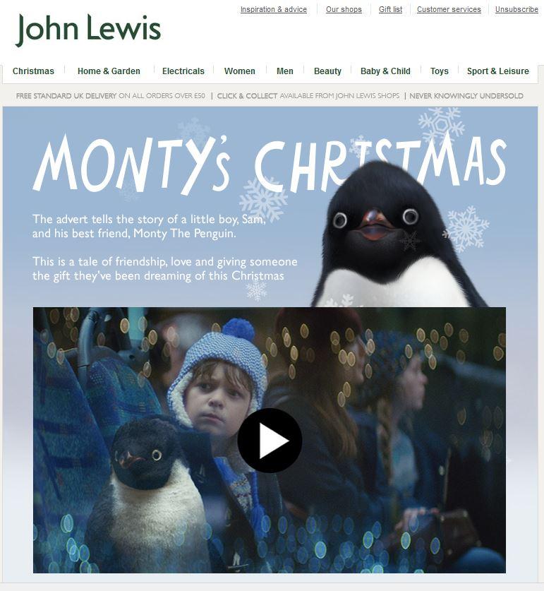John Lewis Ad