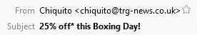 Chiquito Subject