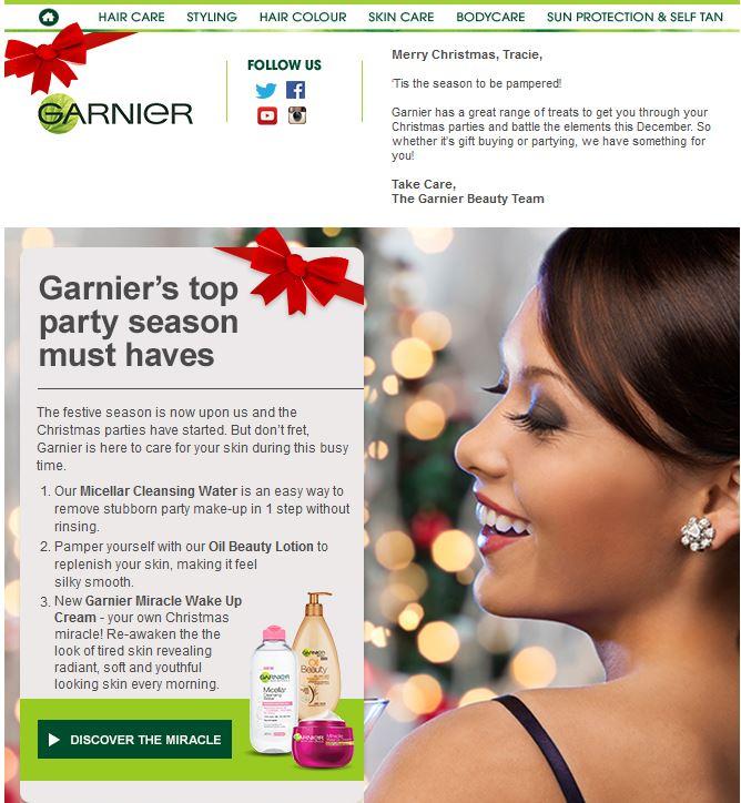Garnier Personal