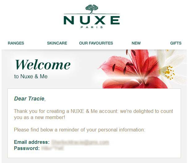 Nuxe Welcome 1