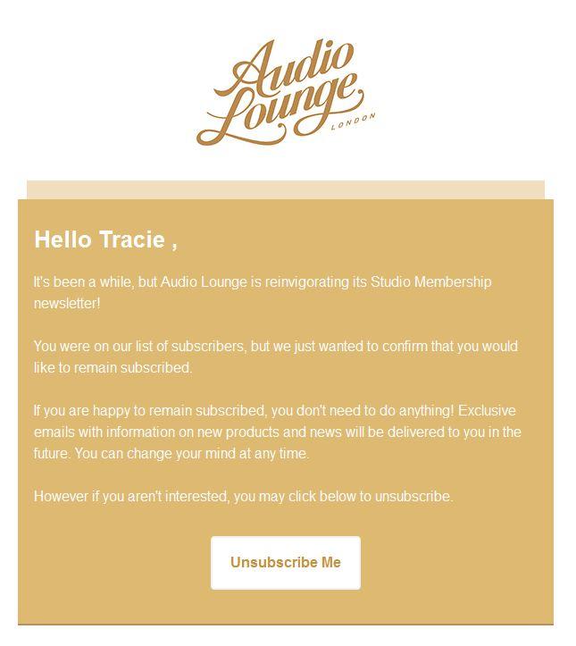 Audio Newsletter