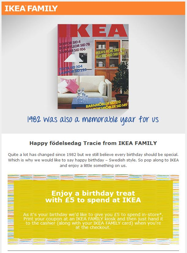 Ikea Birthday