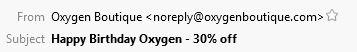 Oxygen Subject