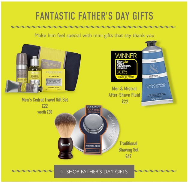 L'Occitane Father's 3