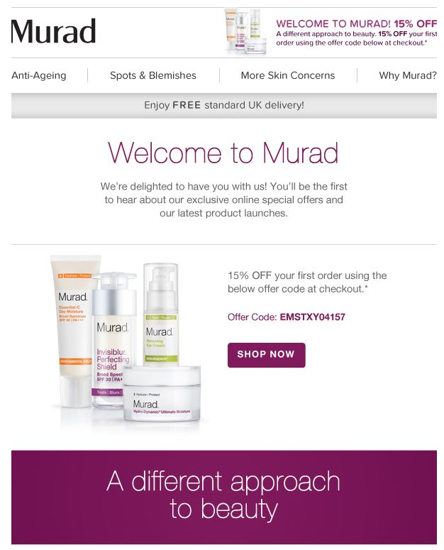 Murad Welcome 1