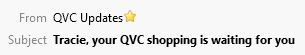 QVC Subject