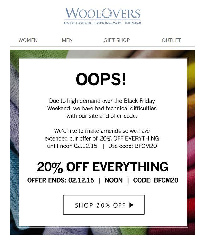 Wool Overs Sorry