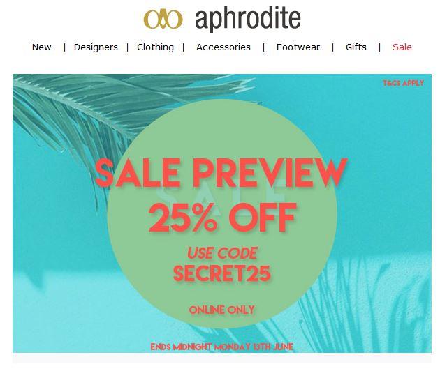 Aphrodite Preview