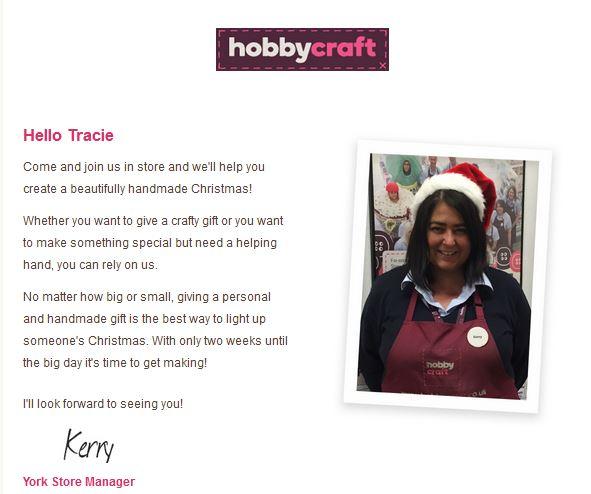 Hobbycraft Personal