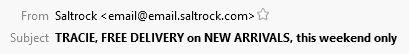 Saltrock Subject