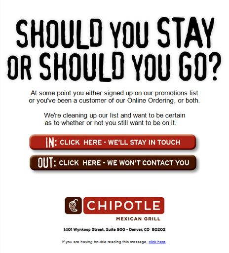 Chipotle Inactive