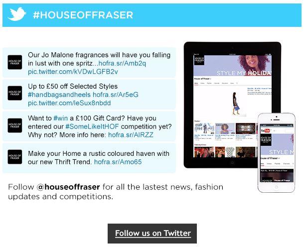 House of Fraser Social 5