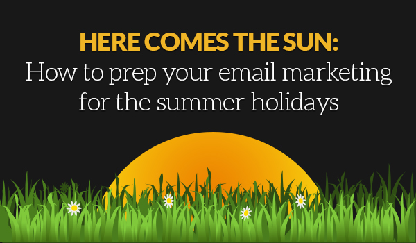 Summer stuff and email things