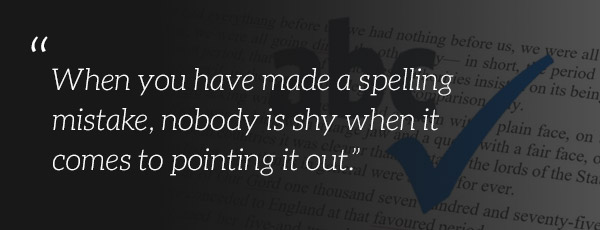 Spelling mistake quote