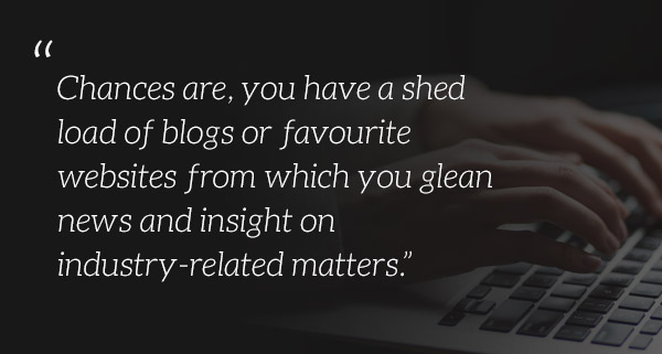Blog, favourite website, news and insight