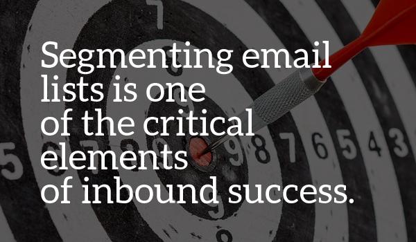 Segmenting email inbound