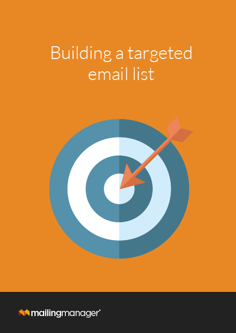 Building a targeted email list